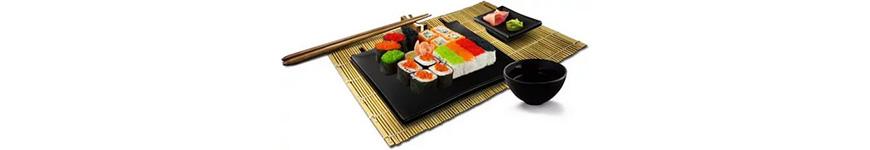Посуда и аксессуары для суши-баров