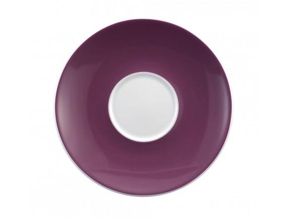 Блюдце 16,2 см под чашку 250 мл декор 23605 лаванда Meran (001.659354)