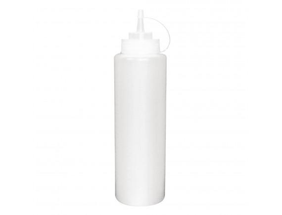 Соусник  0,35 л, белый, пластик (1041)