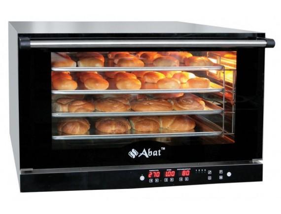 Конвекционная печь КЭП-4П (4 ур. 400х600 мм, камера-нерж, программируемая, без противней) вся нерж. (110000008926)