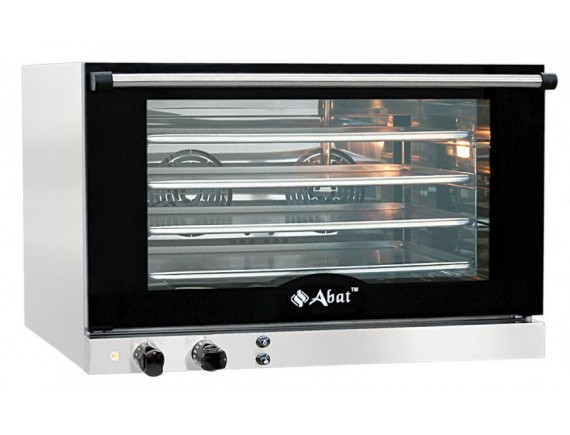 Конвекционная печь КЭП-4 (4 ур. 400х600 мм, камера-нерж, эл/механика, без противней) вся нерж. (110000009279)