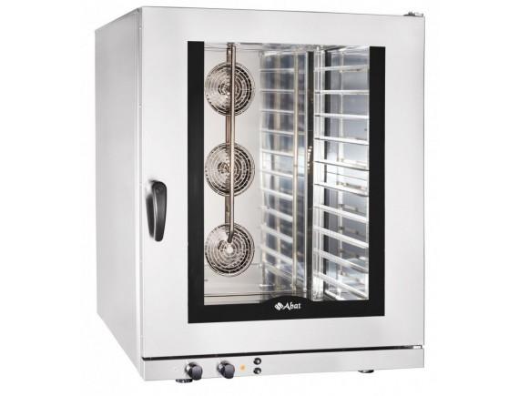 Конвекционная печь КЭП-10 (10 ур. 400х600 мм, камера-нерж, эл/механика, без противней) вся нерж. (110000009760)