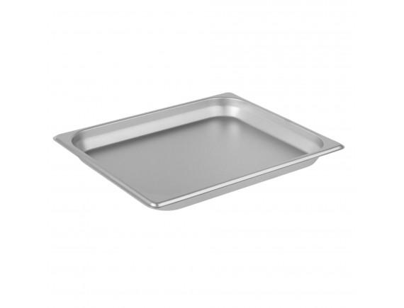 Гастроемкость 1/2-40 (32х26х4 см) нерж.сталь (112040)