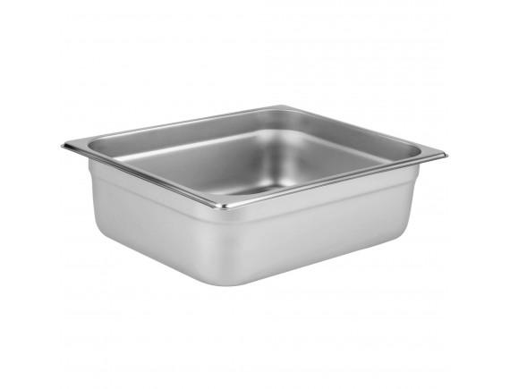 Гастроемкость 1/2-100 (32х26х10 см) нерж.сталь (112100)