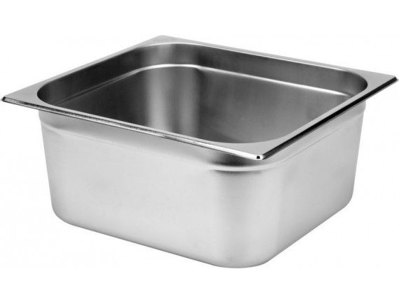Гастроемкость 1/2-150 (32х26х15 см) нерж.сталь (112150)