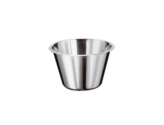Миска коническая 11,7х7 см, 0,5 л, нерж.сталь (12580-11)