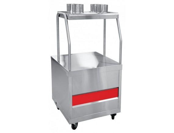 Прилавок для столовых приборов ПСП-70ПМ  /вся нерж./ (210000000215)