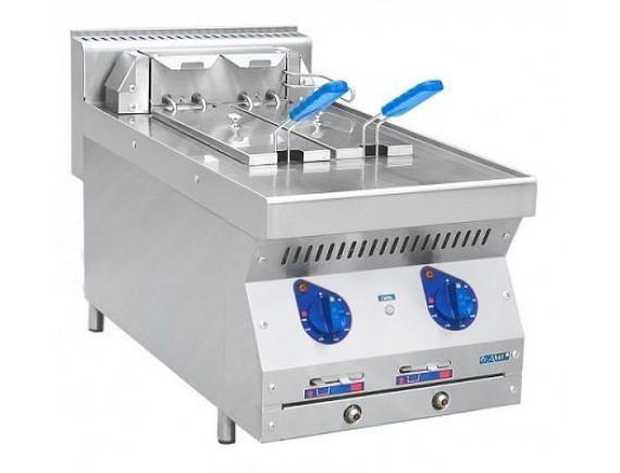 Фритюрница электрическая ЭФК-40/2Н настольн., две ванны по 7,8 кг. (400x700x470 мм) (210000000542)