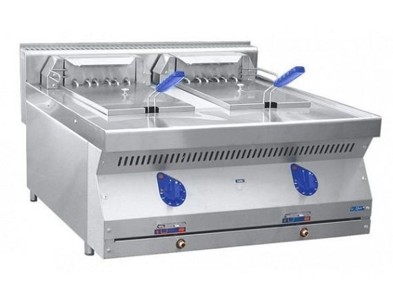 Фритюрница электрическая ЭФК-80/2Н две ванны по 12 кг.(800x700x470 мм.) (210000080402)