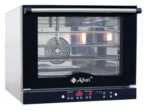 Конвекционная печь КПП-4П (4 ур. 460х330 мм, камера-нерж, программируемая, без противней) вся нерж. (210000809802)