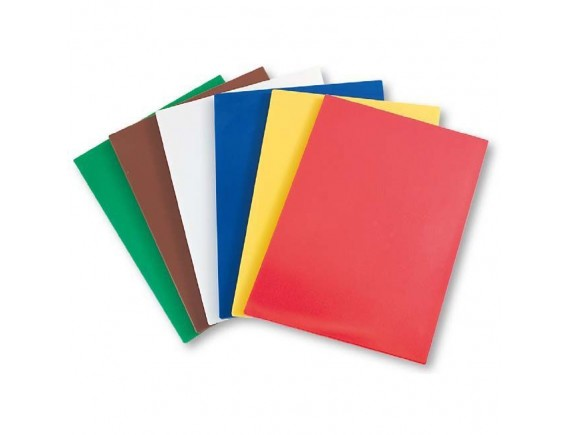 Доска 60х40х2 см полипропилен красная (341611)