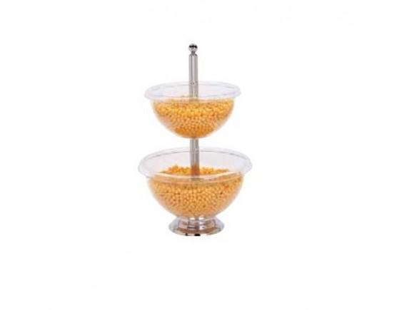 Стойка для фруктов 2 яруса 34-40 см, 56 см (41445-40)