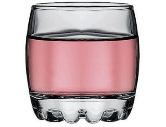 Стопка «Сильвана», стекло, 82мл, D=55, H=60мм, прозрачный (42244)