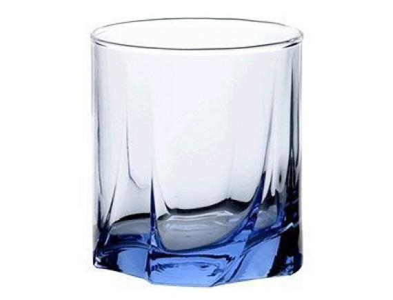 Олд Фэшн «Лайт блю», стекло, 230мл, D=74, H=81мм, синий (42338-blue)