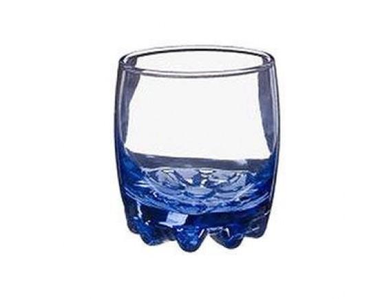 Олд Фэшн «Лайт блю», стекло, 210мл, D=81, H=61мм, синий (42415-blue)