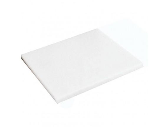 Доска разделочная 32х26,5х2 см белая полипропилен (42522-00)