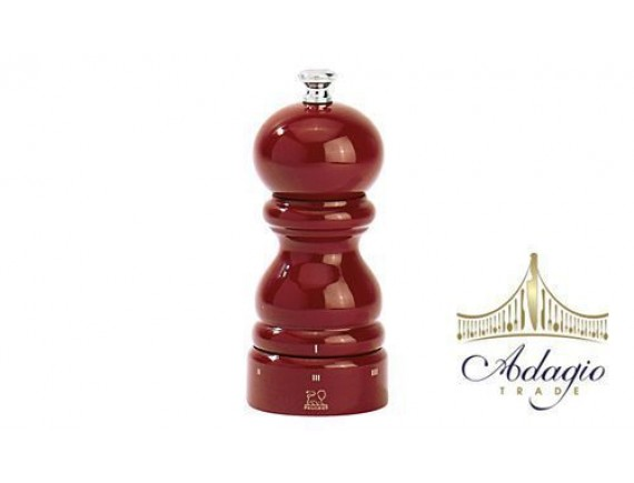 Мельница для перца 18 см, цвет красный, лакированная (42668P18)