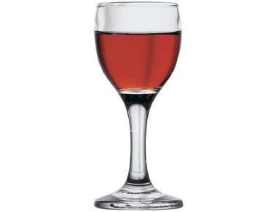 Рюмка «Бистро», стекло, 60мл, D=42/50, H=112мм, прозрачный (44134)