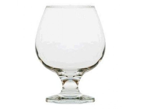 Бокал для бренди «Бистро», стекло, 398мл, D=59/65, H=124мм, прозрачный (44188)
