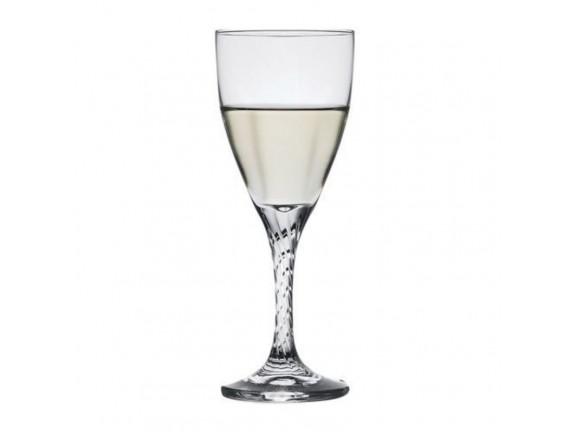 Бокал для вина «Твист», стекло, 180мл, D=69, H=178мм, прозрачный (44362)