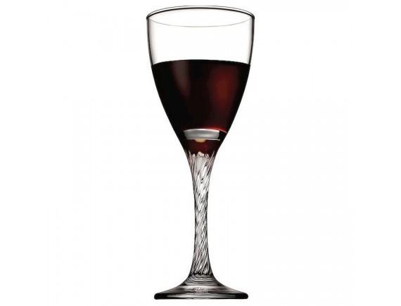 Бокал для вина «Твист», стекло, 205мл, D=74, H=190мм, прозрачный (44372)