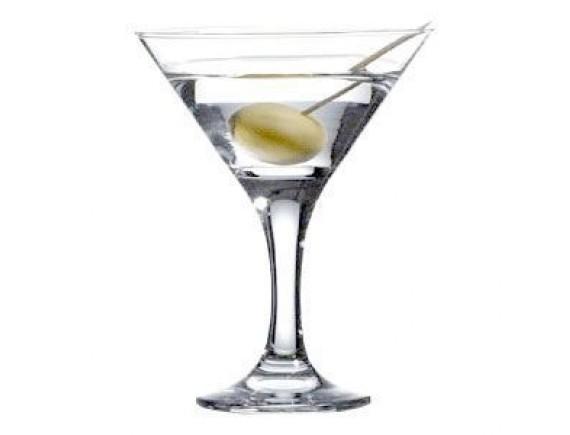 Кокт.рюмка «Бистро», стекло, 190мл, D=106, H=136мм, прозрачный (44410)