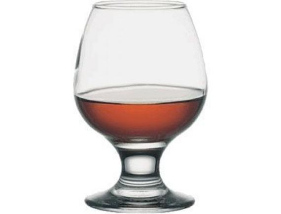 Бокал для бренди «Бистро», стекло, 250мл, D=55/65, H=118мм, прозрачный (44483)