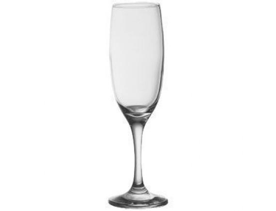 Бокал-флюте «Империал плюс», стекло, 155мл, D=47/55, H=193мм, прозрачный (44819)