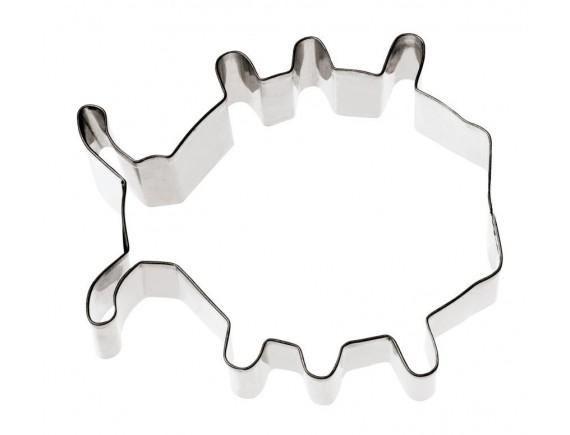Вырубка Божья Коровка 8,2х8,1х3 см нерж.сталь (47404-05)