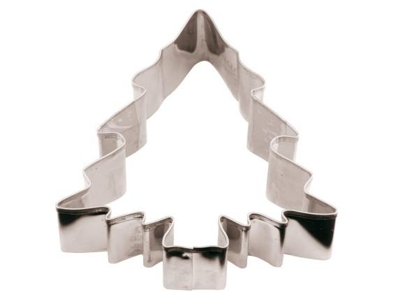 Вырубка Елка 8х8х3 см нерж.сталь (47413-08)