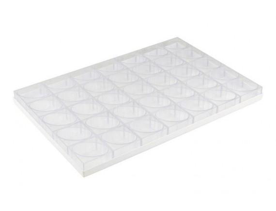 Противень для порционных форм 60х40 см, 35 ячеек овал (47652-02)