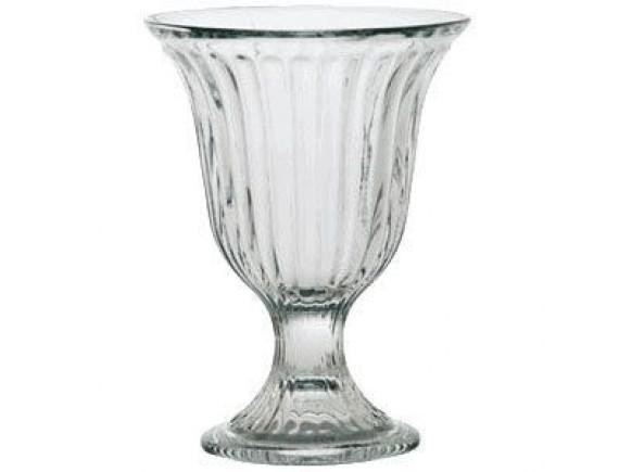 Креманка «Бистро», стекло, 220мл, D=103/70, H=138, L=20мм, прозрачный (51008)