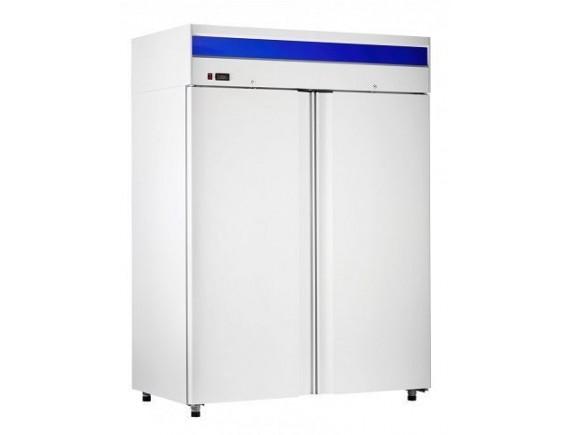 Шкаф холодильный ШХн-1,4 краш. (1485х820х2050) t -18°С, верх.агрегат, ТЭН оттайки, мех.замок, ванна выпаривания конденсата (710000002409)
