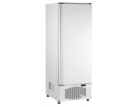 Шкаф холодильный ШХн-0,5-02 краш. (700х690х2050) t -18°С, нижн.агрегат, ТЭН оттайки, мех.замок, ванна выпаривания конденсата (710000002427)
