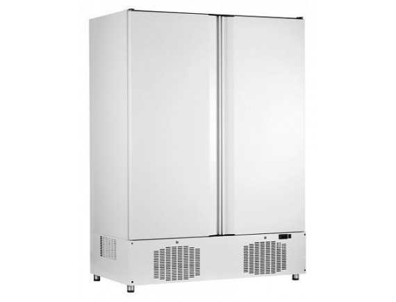 Шкаф холодильный ШХс-1,4-02 краш. (1485х820х2050) t 0...+5°С, нижн.агрегат, авт.оттайка, мех.замок, ванна выпаривания конденсата (710000002457)