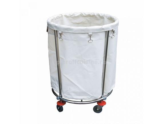 Тележка для уборки белья кругл (800*572*826мм) (81200270)