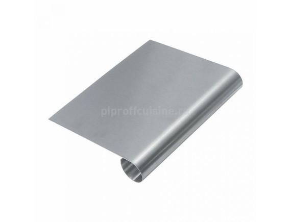 Скребок кондититерский для муки, нержавеющая сталь, 150*115 мм (94001035)