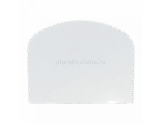 Скребок кондитерский пластиковый, 130*100 мм (94001045)