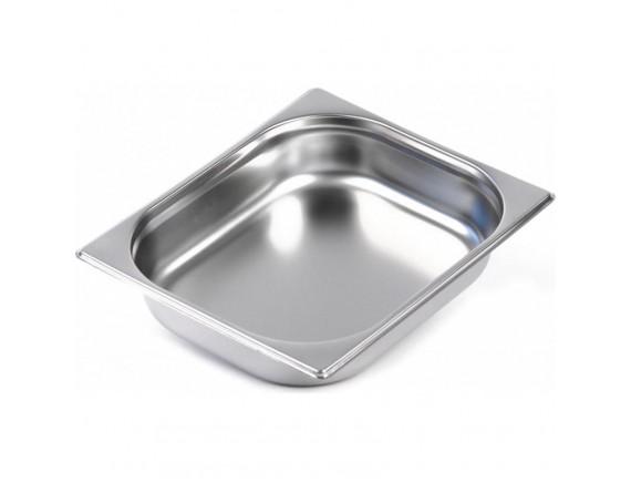 Гастроемкость 1/2-65 (32х26х6,5см) нерж.сталь (STP-502)