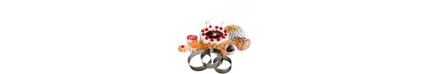 Кольца кондитерские и формы для тортов и пирожных