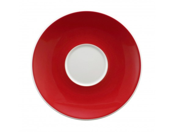 Блюдце, 16.2 см под чашку 250 мл декор 23604 рубин  Meran, Seltmann Weiden. (001.659292)