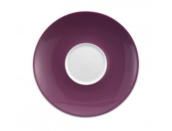 Блюдце, 16.2 см под чашку 250 мл декор 23605 лаванда Meran, Seltmann Weiden. (001.659354)