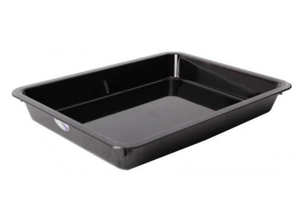 Блюдо для витрины 30х25х6,5см, цвет черный, Welshine (0062)