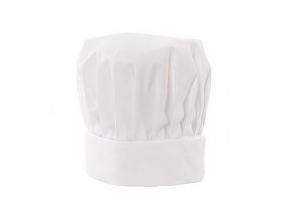 Колпак для повара, 65% полиэстер, 35% вискоза, белый, ISMONT. (01 M056-03)