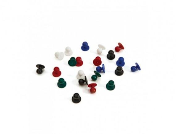 Пукли пластиковые, набор 12 штук, ISMONT. (03 T115-01)