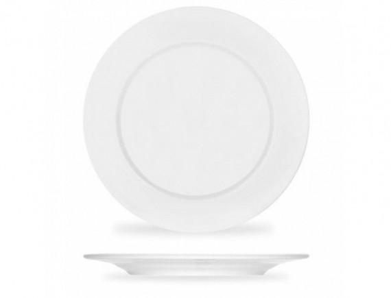 Тарелка плоская ф.Классик диам.270 мм, Башкирский фарфор. (0933270)