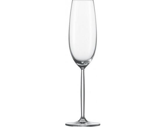 Бокал для шампанского, Diva, 219 мл, H-25,3 см, D-7,2 см, Schott Zwiesel. (104100)