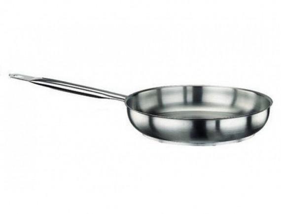 Сковорода 24х5 см, нержавеющая сталь, Paderno. (11014-24)