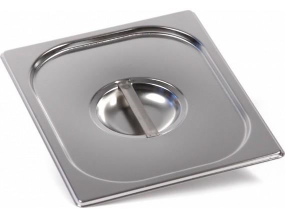 Крышка к гастроемкости, 1/2 нерж.сталь, Luxstahl. (1120)