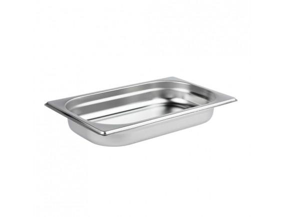 Гастроемкость, 1/4-40 (26х16х4см) нерж.сталь, Luxstahl. (114040)